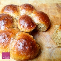 Quick Golden Multi-seed Bread