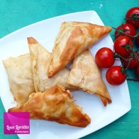 Sun dried Tomato Feta Parcels