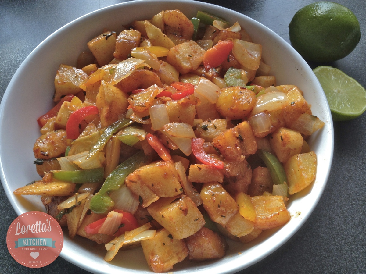 smokin fried plantain loretta 39 s kitchen